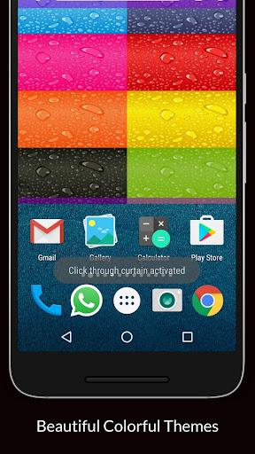 Floating apps Hides Whatsapp chat Open in Whatsapp 3.0.1 screenshots 8