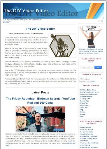 DIY Video Editor