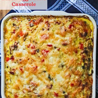 Healthy Egg Casserole Breakfast Recipes.