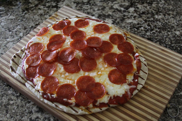 Our Pizza On The Grill Recipe