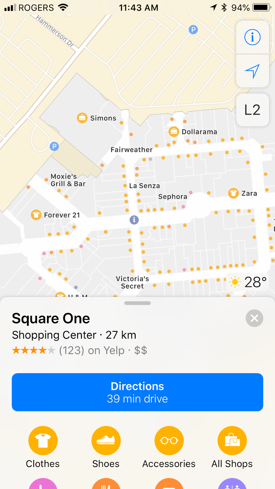 Markville Mall Map Apple Has a New Feature That Will Appeal to Square One Shoppers in
