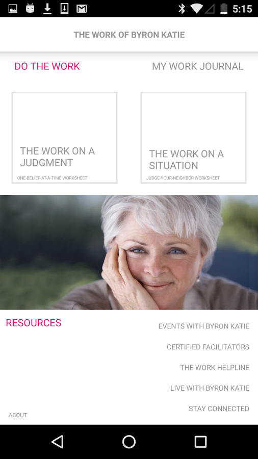 The Work App 201 Android Apps on Google Play – Byron Katie Worksheet