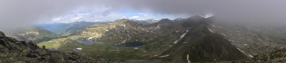 Photo: Vue depuis le Pic de Rosari 2592 m