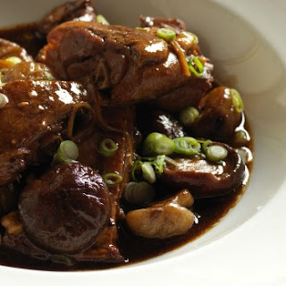 Neil Perry'S Braised Duck Leg with Chestnuts Recipe