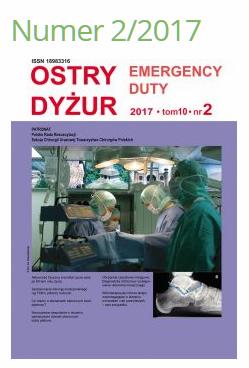 Ostry Dyżur 2017, 10 (2): 64-69