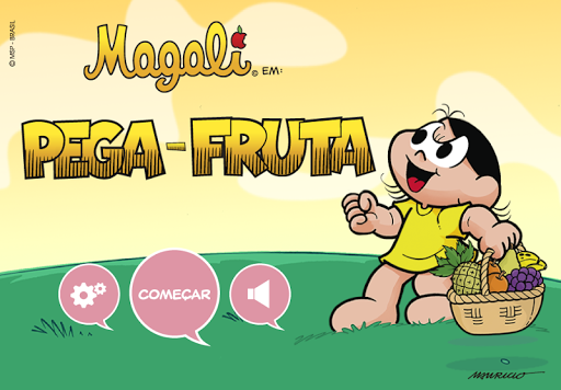 Magali Catch the Fruits