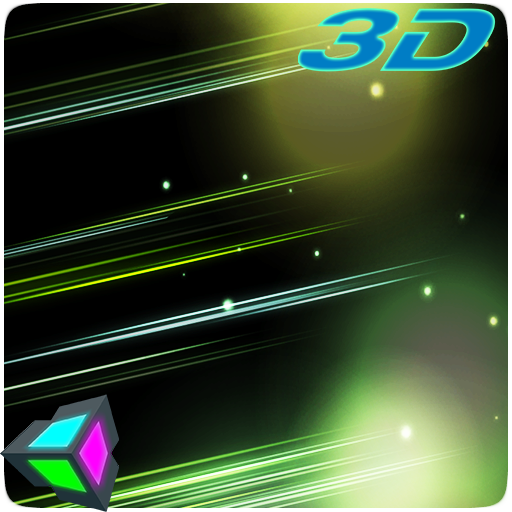 3D Abstract Particles Live Wallpaper