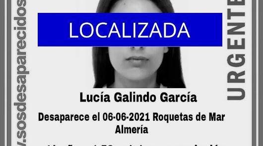 La menor desaparecida en Roquetas ya ha sido localizada