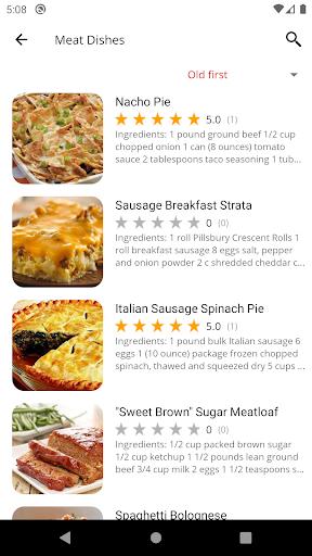 Oven Recipes 5.19 screenshots 2