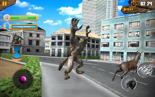 City WereWolf Simulator 2017: Hry vlkodlačí - náhled
