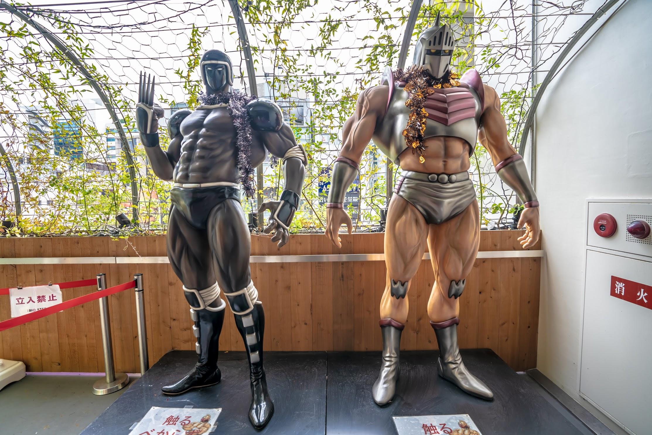 America-mura (American Village) Kinnikuman (Muscle Man)