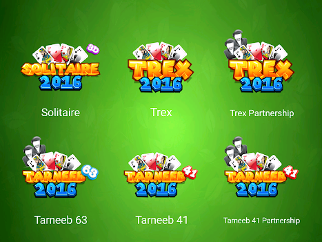Tarneeb and Trix and Solitaire