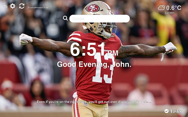 San Francisco 49ers Wallpapers New Tab
