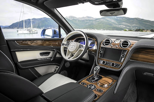The interior reflects the traditional craftsmanship of the brand