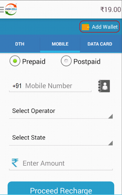 #2. PayMyIndia Recharge & PayBills (Android)