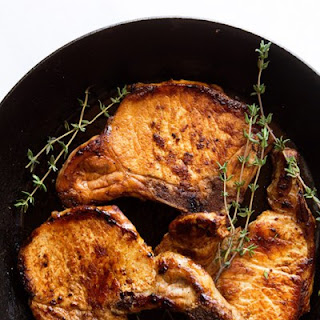 Molasses Bourbon Pork Chops Recipes
