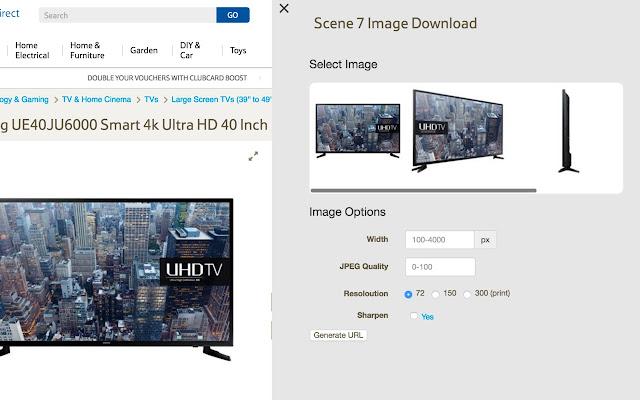Tesco Direct Image Downloader
