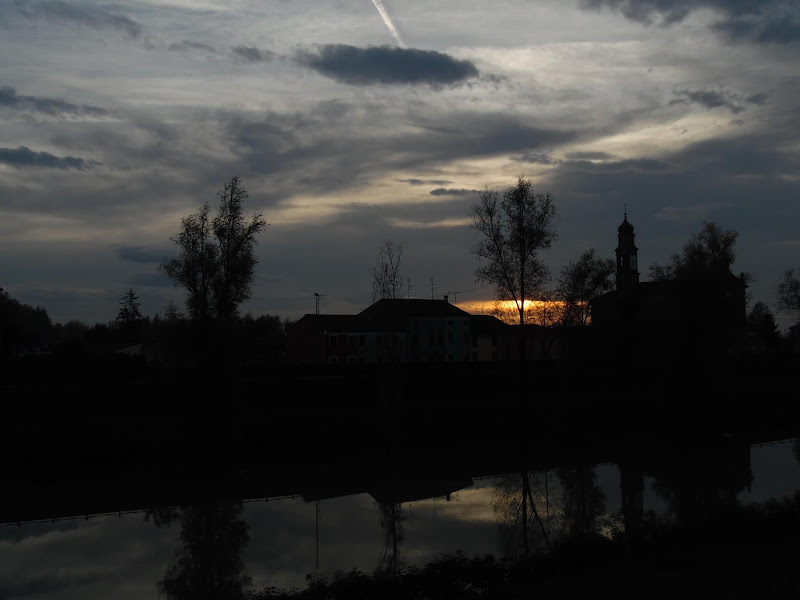 Una luce nel tramonto tempestoso di supergigi