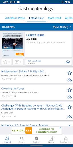 Gastroenterology Journal screenshots 3