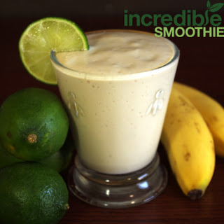 Vegan Key Lime Pie Smoothie.
