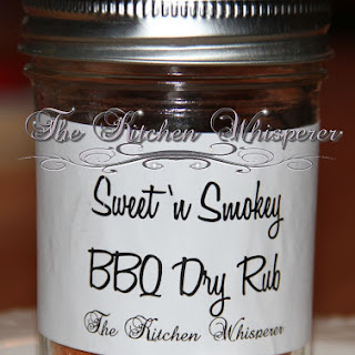 Sweet 'n Smokey BBQ Dry Rub.