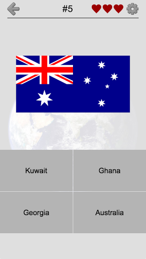 Flags of All Countries of the World: Guess-Quiz 2.2 screenshots 7