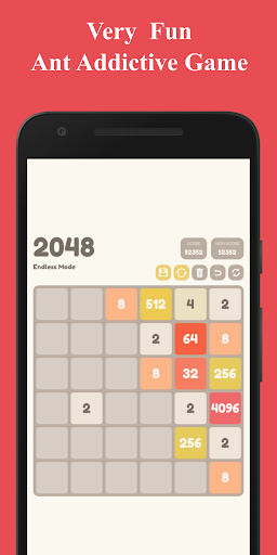 Number Puzzle:  2048 Puzzle Game 2.5 screenshots 5