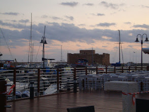 Photo: Paphos Castle is located on the edge of Paphos harbour. It was originally built as a Byzantine fort to protect the harbour.