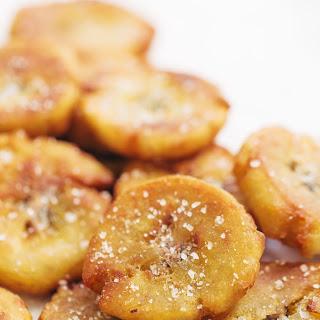 Crispy Salted Tostones.