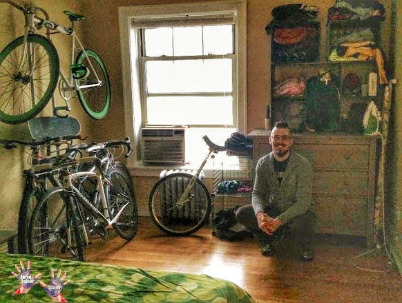Photo: Cyclists' hospitality networking