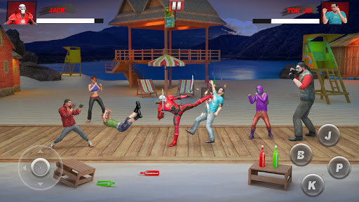 Ninja Superhero Fighting Games: City Kung Fu Fight 5.9 screenshots 3