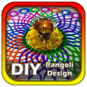 DIY Rangoli Design Ideas