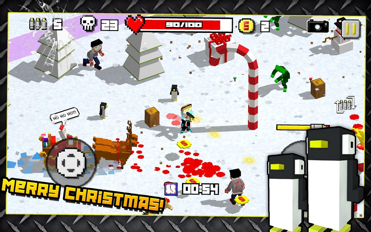 Zombie Breakout: Blood & Chaos- screenshot