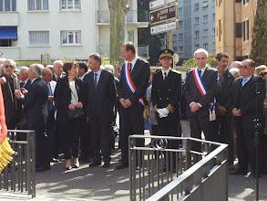 Photo: Les autorités et les élus étaient venus en nombre également.