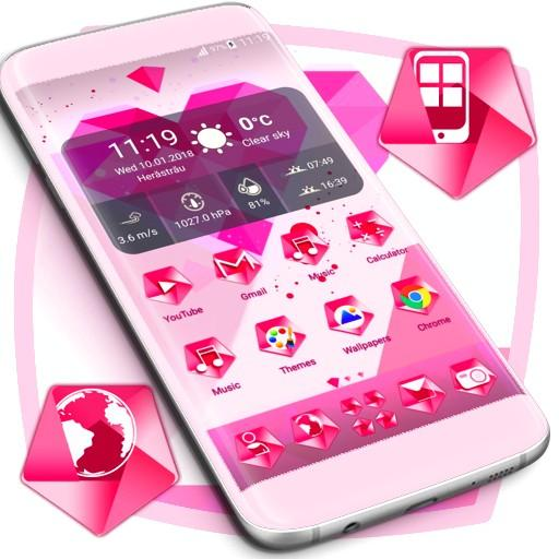 Pink Heart Icons