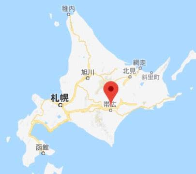地図:道の駅 おとふけ