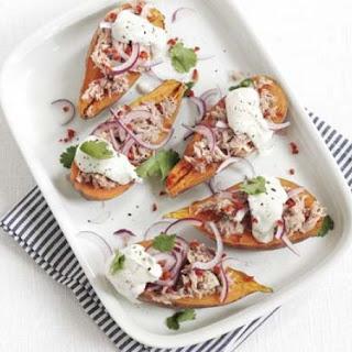 Tuna Sweet Potato Jackets Recipe