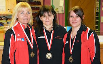 Photo: LM Trio Damen – 2. Platz: Linzer BC Diavolo