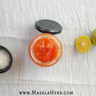 Papaya Jam with Lime Recipe - How to make papaya jam.