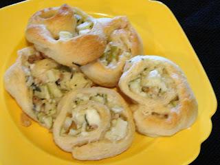 Savory Apple Pinwheels Recipe