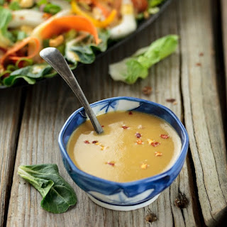Spicy Asian Vinaigrette Salad Dressing.