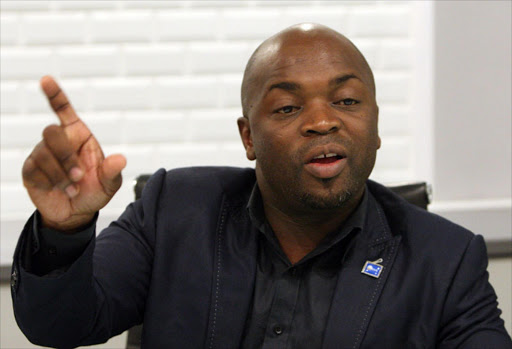 The DA's Tshwane mayor Solly Msimanga . Photo Antonio Muchave