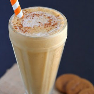Pumpkin Milkshake without Ice Cream
