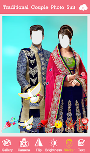 Traditional Couple Dress Photo Suit - náhled