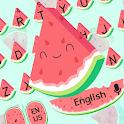 Cute Watermelon keyboard icon