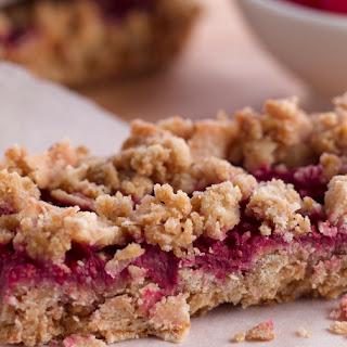 Healthy Raspberry Oatmeal Bars Recipe