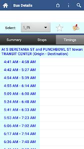 Honolulu Transit Info screenshot 4