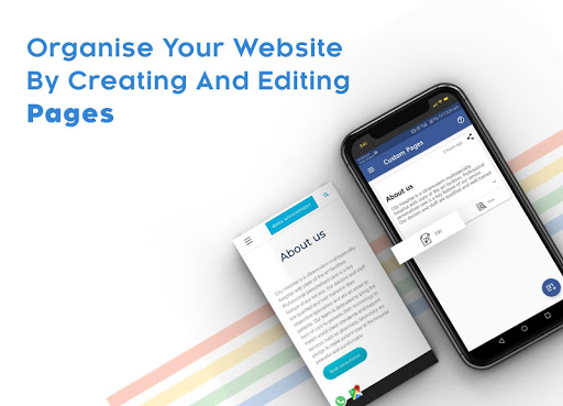 Instant Website Builder With Store: Websites.co.in 2.36 Screenshots 12