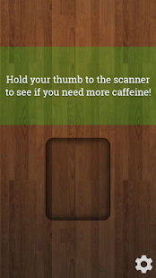 Caffeine Scanner Prank- screenshot thumbnail