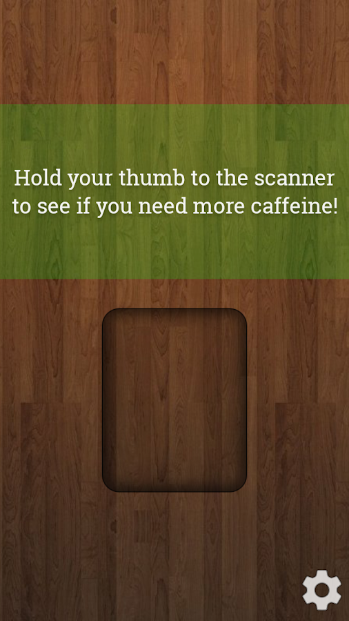 Caffeine Scanner Prank- screenshot